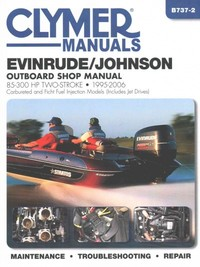 Clymer Manuals Evinrude/Johnson Two-Stroke Outboard Shop Manual - Inc. Haynes North America (Paperback) - Cover