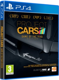 Project CARS - Game of the Year Edition (PS4) - Cover