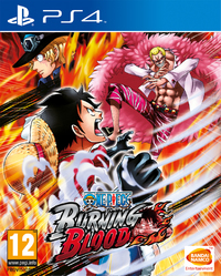 One Piece: Burning Blood (PS4) - Cover
