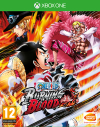 One Piece: Burning Blood (Xbox One) - Cover