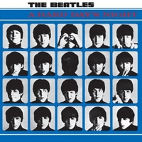 The Beatles Hard Days Night Steel Sign - Cover