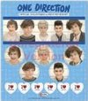 One Direction Sticker Set