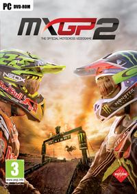 MXGP 2 - The Official Motocross Videogame (PC) - Cover