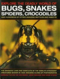 Explore the Deadly World of Bugs, Snakes, Spiders, Crocodiles (Hardcover) - Cover