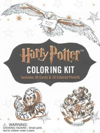 Harry Potter Coloring Kit - Running Press (Mixed media product) - Cover