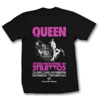 Queen Stormtroopers Mens Black T-Shirt (Large) - Cover