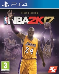 NBA 2K17 (PS4) - Cover