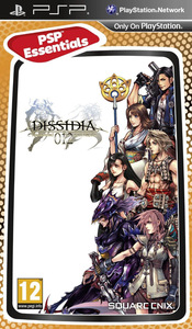 Dissidia 012: Final Fantasy (PSP) - Cover