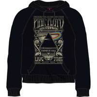 Pink Floyd Carnegie Hall Poster Mens Black Hoodie (XX-Large) - Cover