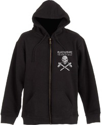 Iron Maiden Eddie Axe Mens Black Hoodie (Small) - Cover