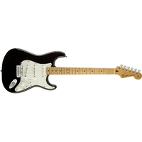 Fender Mexican Standard Stratocaster Electric Guitar (Black)