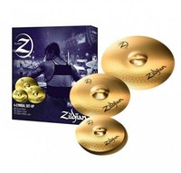 Zildjian PLZ4PK Planet Z Series Planet Z4 Cymbal Pack (14 16 20 Inch) - Cover