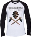 Iron Maiden Axe Colour Mens Long Sleeve Shirt (Small)