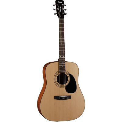 Cort AD810 OP Standard Series Dreadnought Acoustic Guitar (Open Pore Natural)