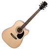 Cort AD880CE NS Standard Series Dreadnought Acoustic Electric Cutaway Guitar with Bag (Natural)