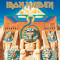 Iron Maiden Greeting Card: Powerslave