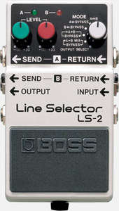 Boss LS-2 Line Selector - Cover