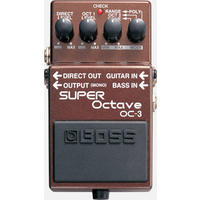 Boss OC-3 Super Octave Guitar Octave Effects Pedal