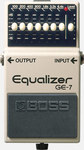 Boss GE-7 Graphic Equaliser Guitar 7 Band EQ Pedal
