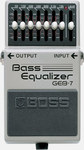 Boss GEB-7 Bass Equaliser Bass 7 Band EQ Pedal