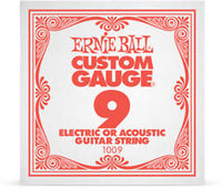 Ernie Ball 1009 .009 Plain Steel Single String - Cover