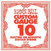 Ernie Ball 1010 .010 Plain Steel Single String
