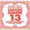 Ernie Ball 1013 .013 Plain Steel Single String