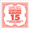 Ernie Ball 1015 .015 Plain Steel Single String
