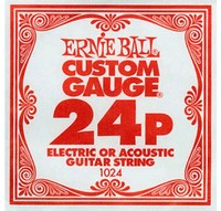 Ernie Ball 1024 .024P Plain Steel Single String - Cover