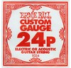 Ernie Ball 1024 .024P Plain Steel Single String
