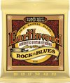 Ernie Ball 2008 Earthwood Rock and Blues 80/20 Bronze Acoustic Guitar Strings with Plain G