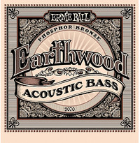 Ernie Ball 2070 Earthwood Acoustic Bass Guitar Strings - Cover