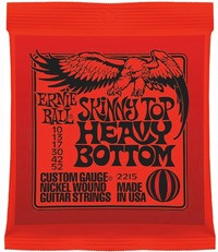 Ernie Ball 2215 Slinky 10-52 Skinny Top Heavy Bottom Nickel Wound Electric Guitar Strings - Cover