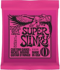 Ernie Ball 2223 Super Slinky 09-42 Nickel Wound Electric Guitar Strings - Cover