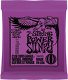 Ernie Ball 2620 7 String Power Slinky 11-58 Nickel Wound 7 String Electric Guitar Strings