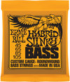 Ernie Ball 2833 Hybrid Slinky 45-105 Nickel Wound Bass Guitar Strings