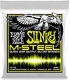 Ernie Ball 2921 M-Steel Regular Slinky 10-46 Electric Guitar Strings