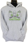 Forget Lab Safety Mens Hoodie Grey (X-Large)