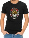 Dead Rebel Mens T-Shirt Black (Small)