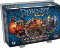 Descent: Journeys in the Dark (Second Edition) - Treaty of Champions Expansion (Board Game) - Cover