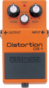 Boss DS-1 Guitar Distortion Pedal - Cover