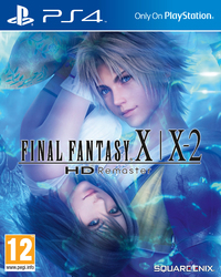 Final Fantasy X/X-2 HD Remaster (PS4) - Cover