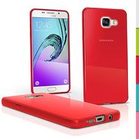 iGadgitz Solid Red Gel Skin Case Cover for Samsung Galaxy A5