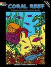 Coral Reef Stained Glass Coloring Book - Jessica Mazurkiewicz (Paperback)