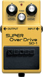 Boss SD-1 Super Overdrive Guitar Overdrive Pedal
