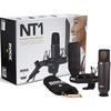 Rode NT1 KIT 1 Inch Cardioid Condenser Microphone Package