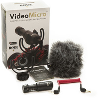 Rode VideoMicro Compact On-Camera Microphone - Cover