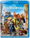 Zootropolis (Blu-ray) Cover