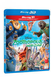 Zootropolis (3D Blu-ray) - Cover