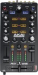 Akai AMX USB Serato DJ Mixing Controller with Audio Interface (Black)